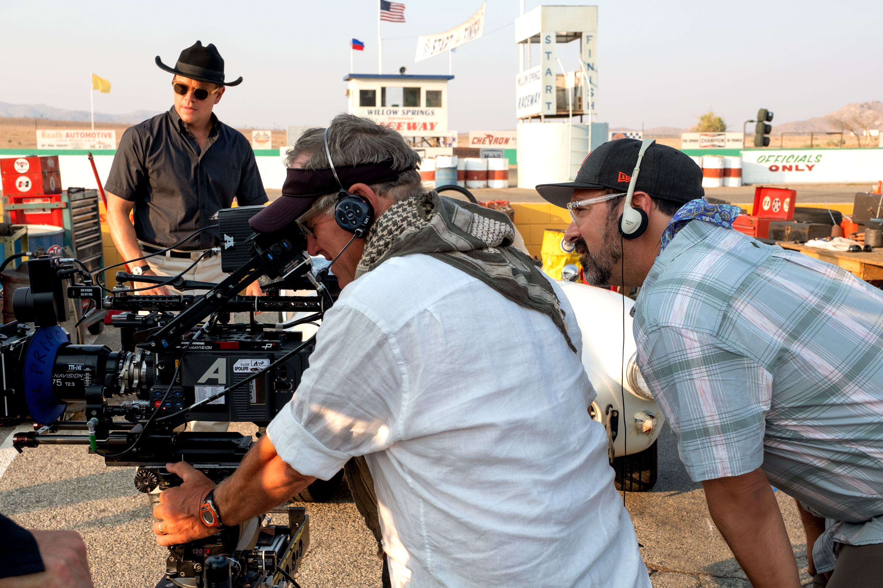 Phedon Papamichael Asc And The Alexa Lf Bring Action To Life In Ford V Ferrari