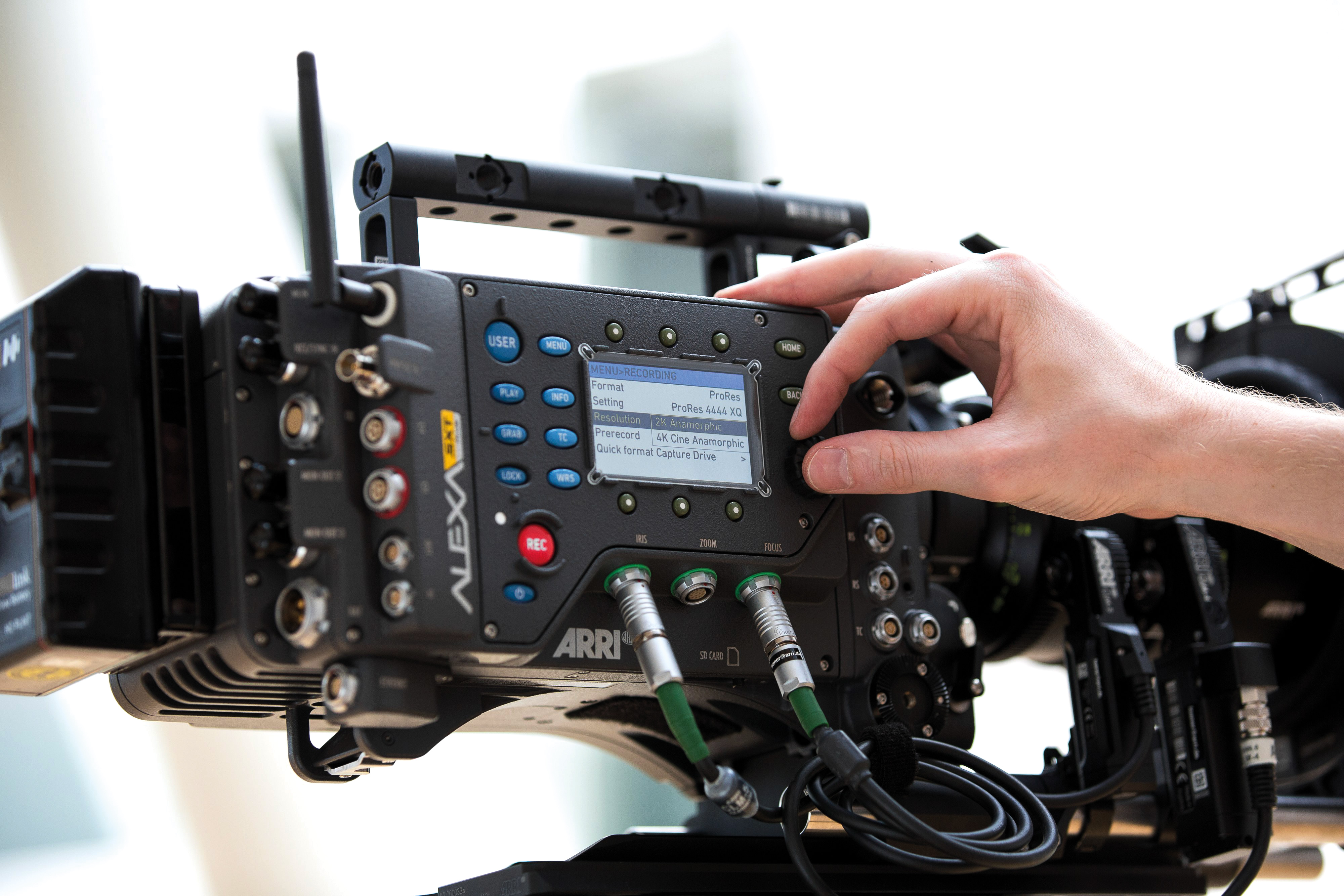 fe626d15f74 ... All sensor modes in ARRIRAW and ProRes.  features alexa sxt w recording formats