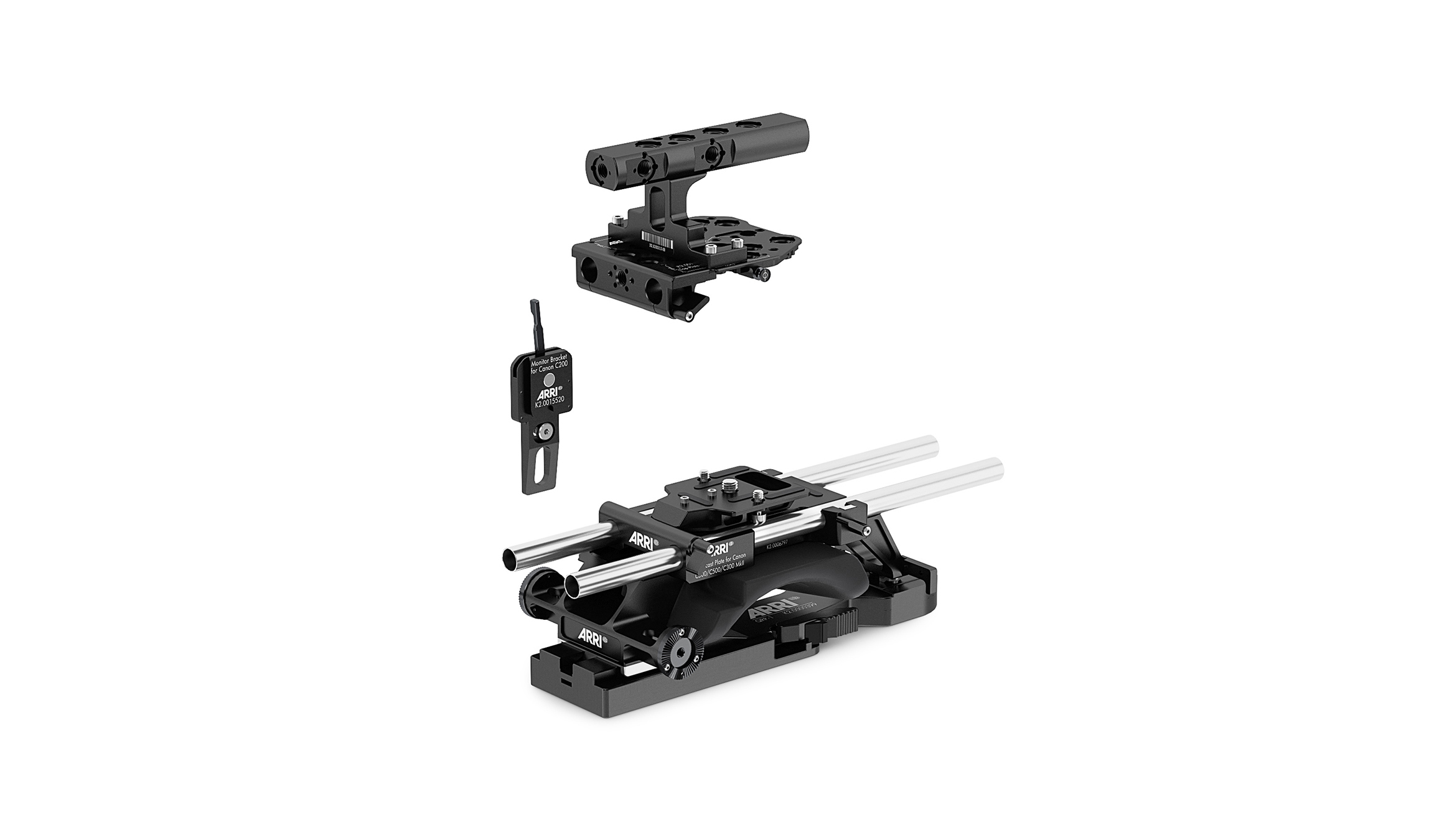 Pro Broadcast Set For Canon C200 + QRP-1