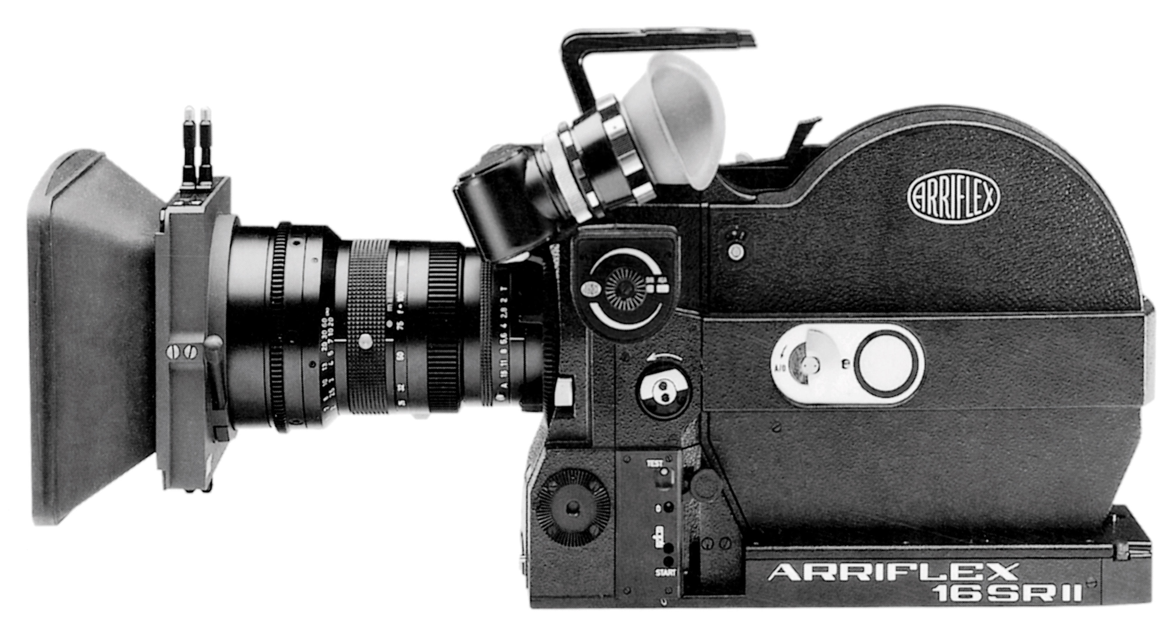 One of ARRI's best-selling cameras of all time, the ARRIFLEX 16 SR